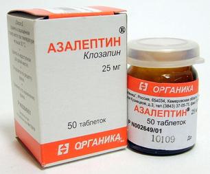 Азалептин - форма выпуска лекарства, как принимать и дозировка, противопоказания и отзывы